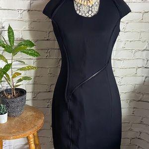 Carolina Herrera Black Midi Dress 2015
